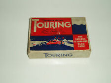 """Vintage """"Touring"""" card game by Parker. 1940s."""