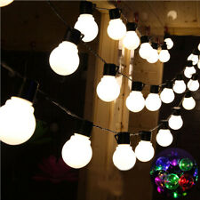 Led Globe String Lights Christmas Fairy Lights Indoor Outdoor Garden Party Light