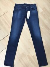 Brand New Ladies GRUPEE-Ne 0848K Blue Skinny Straight Slim Fit Size W29