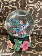 Music Box Company Bird Water Glitter Snow Globe