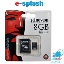Kingston 8GB memory Card for Samsung Galaxy S5 - Galaxy Note 3 - Galaxy Ace 3