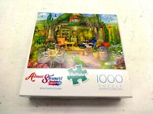 AIMEE STEWART BUFFALO PUZZLE 'WINE COUNTRY ESCAPE' 1000 PCS COMPLETE