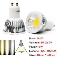Ultra Bright GU10 Dimmable 6W/9W/12W LED COB Spot Light Bulbs Hot