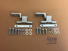 2 x Tailgate Hinge Set With Gudgeon Tippers, Sprinters Dropside Trucks Trailers