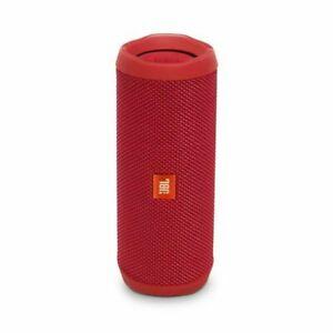 JBL Flip 4 Waterproof Portable Bluetooth Speaker Red JBLFLIP4REDAM