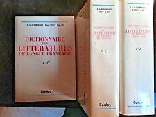 1984, DICTIONNAIRE des Littérature de Langue Française, BEAUMARCHAIS,COUTY- 4322