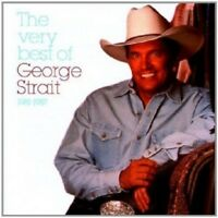 GEORGE STRAIT - THE VERY BEST OF 1981-1987  CD 20 TRACKS MAINSTREAM COUNTRY NEW!