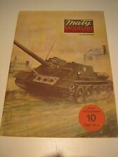 Vintage 1983 Maty Modelarz Paper Model Tank