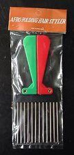 LOT of 50 Vintage Afro Folding Hair Styler Pick Pik Comb 1970's disco Sealed