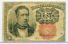 FRACTIONAL CURRENCY TEN CENT US NOTE 1874 10 CENT