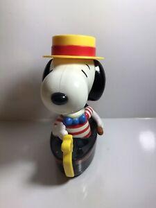 2003/2004 Peanuts Snoopy Gondola McDonalds Toy - 15cm Tall