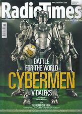 Radio Times Doctor Who Cybermen World Cup cover issue July, 2006