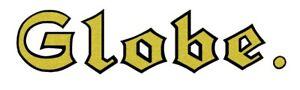 Globe Wernicke Oak/Mahogany File Cabinet LOGO LABEL–Reproduction – Original GOLD