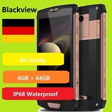 "5.0"" Blackview BV8000 pro 6+64GB 8Core Android 4G Smartphone Handy 4180mAh IP68"