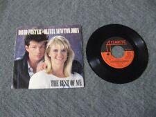 "David Foster Olivia Newton John the best of me - 45 Record Vinyl Album 7"""