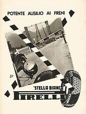 W9357 Pneumatici Stella Bianca PIRELLI - Pubblicità del 1939 - Old advertising