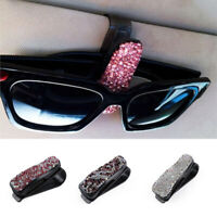 Vehicle Accessory Sunglasses Eyeglasses  Car Glasses Clips Card Ticket Holder