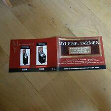 MYLENE FARMER - DISCOGRAPHIE - PLAN MEDIA 4 PAGES !!!!!!!!!!!!!!!!!!!!!!