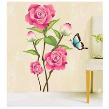 Beautiful Romantic Blossom Flower wall stickers decoration decor HU