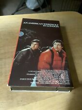 An American Werewolf In London 1981 Movie Vhs 1985 Cover