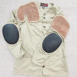 Vintage 10-X Sport Clothing MFG Iowa Shooting Jacket Hunting Rifle-mans Size 42