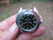 Vintage Boctok CCCP date Watch USSR Soviet Vostok Scuba Komandirskie