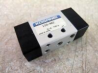 Koganei   110-4A2    4 way  pneumatic control valve   M5 ports