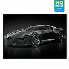 Bugatti La Voiture Noire Sports Car Photo Poster | A5 A4 A3 A2 A1 |