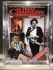 Leather Face Texas chainsaw massacre Custom Mini Action Figure wCase & Stand 364