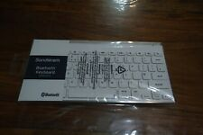 Sandstrom Bluetooth Keyboard in white for PC/Mac/tablet/Android/IOS SKBWHBT19