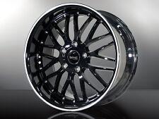 MHE Strada Black & White  Alufelgen 19 Zoll Mercedes BMW 1er 3er 4er M Z4 677