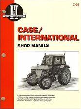 Case International 1190 1290 1390 1490 1690 Tractor Repair Workshop Manual