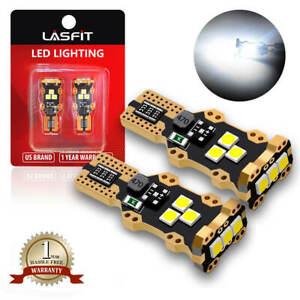 LASFIT LED Reverse Back Up Light Bulb 921 912 W16W 904 906 916 Super White 6000K