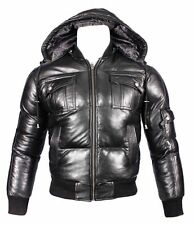 Infinity Hip Length Leather Coats & Jackets for Men