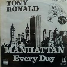 "7"" 1977 RARE IN MINT- ! TONY RONALD : Manhattan"
