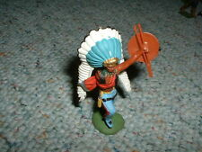 Britains Old Swoppet Foot Indian Chief  - old
