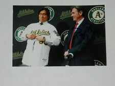 Oakland A's BILLY BEANE Signed 4x6 Photo MONEYBALL AUTOGRAPH 1B