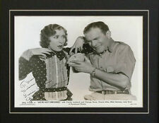 Autograph George Burns and Gracie Allen Signed Photo Repro