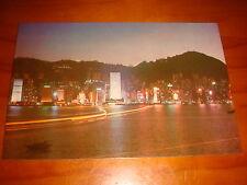 1970's vintage postcard, Hong Kong night scene, Unused