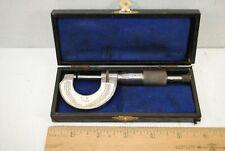 """Vintage German 0-1"""" Micrometer"""