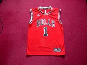 Adidas Chicago Bulls Basketball shirt/Top/Jersey/Vest/Rose 1/adult small