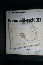 NOS Summagraphics SummaSketch III Model MM III 1201 Tablet
