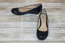 Dirty Laundry DL Marching Wedge Pump - Women's Size 9.5 Navy Patent