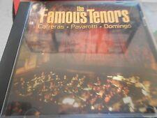 Carreras/Pavarotti/Domingo - The Famous Tenors (CD COMPILATION)(VG+ CONDITION)