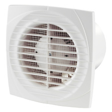 Bathroom Extractor Fan Designer High Power LIne100 Slim Stander Blauberg