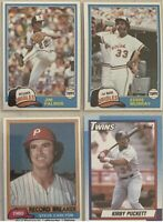 50 cards HALL OF FAME Lot   ***Every Card is a HOF member***FREE SHIPPING***