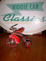 Hallmark Kiddie Car Classics 1937 DE LUXE VELOCIPEDE Sidewalk Cruisers NIB