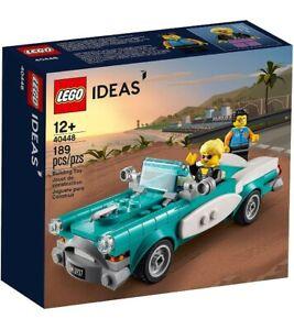 LEGO - Ideas Vintage Car Build Set - Multicoloured (40448) - BNIB
