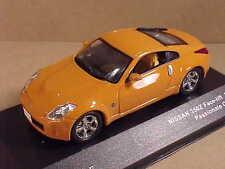 J-collection #JC137  1/43 Diecast 2007 Nissan 350Z Face-Lift, Passionate Orange