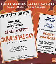 Sealed ETHEL WATERS Cabin in the Sky / MABEL MERCER Porgy and Bess Vinyl LP 33